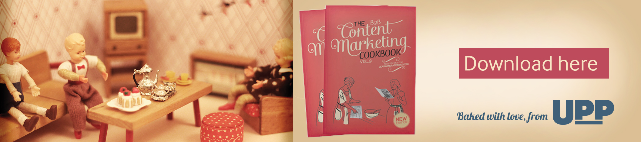 Content Marketing Cookbook CTA block